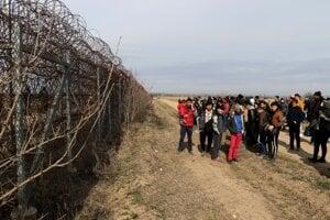 Grécko-turecká hranica.