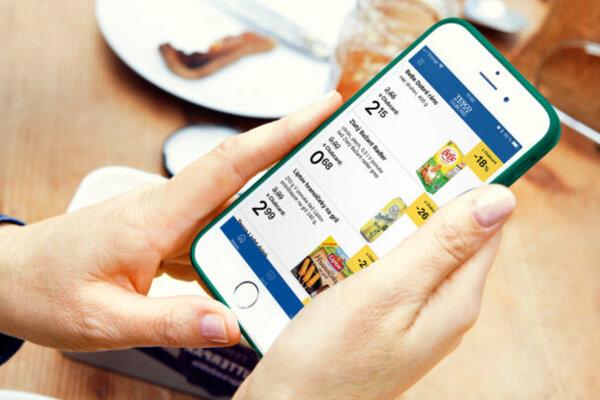 Tesco má niekoľko mobilných aplikácií.