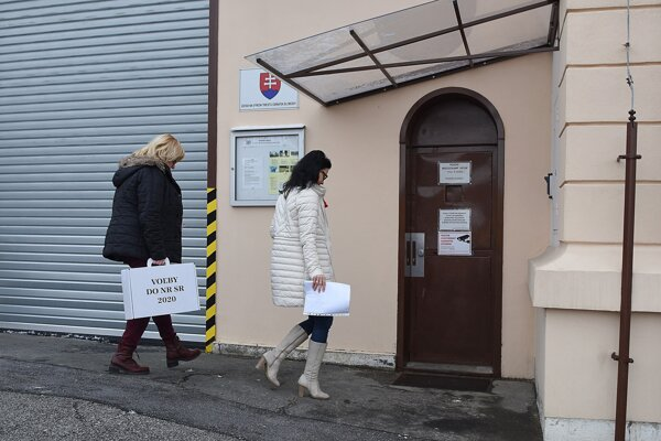 Voľby v levočskej väznici.