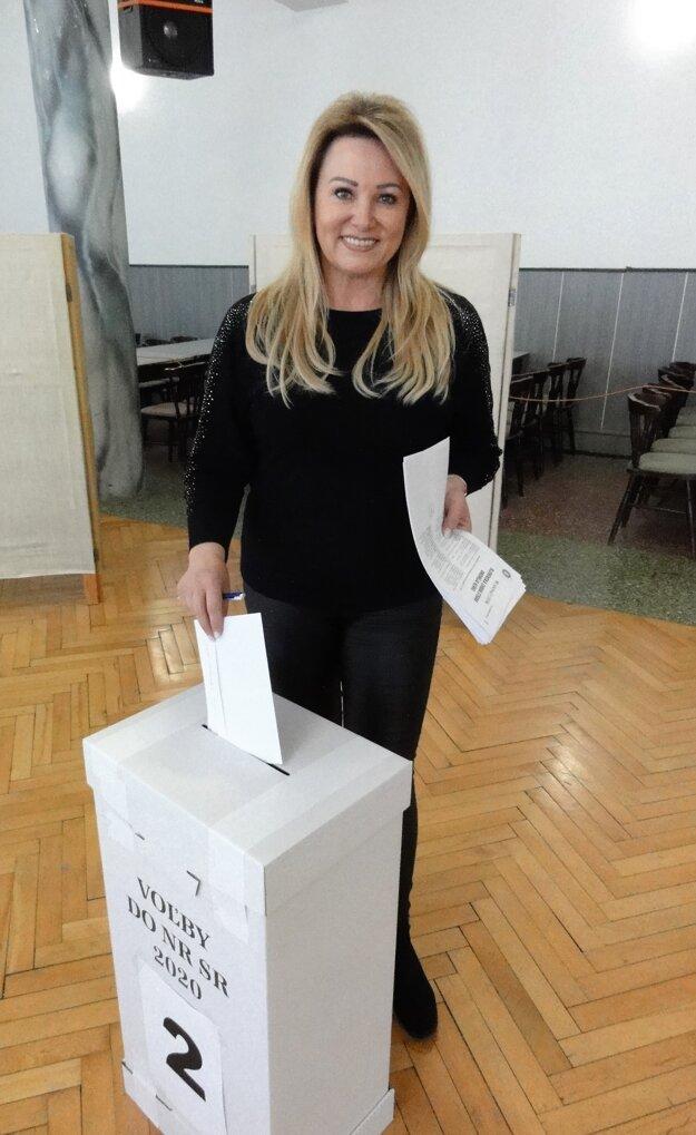 Parlamentné voľby 2O2O - Iveta Štefkovičová, Prašice.
