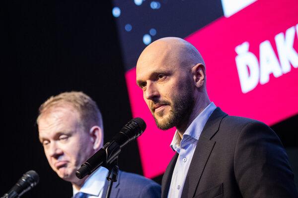Voľby 2020: Lídri PS, Spolu Michal Truban a Miroslav Beblavý.