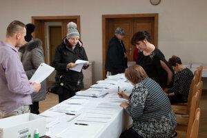 Voľby v Liptovskej Kokave.