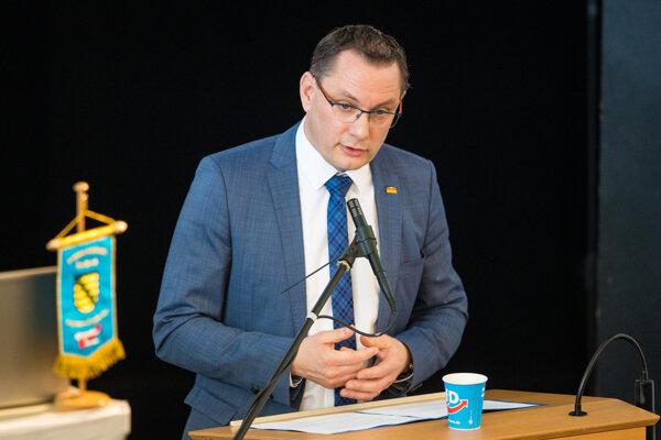 Spolupredseda strany Alternatíva pre Nemecko (AfD) Tino Chrupalla.