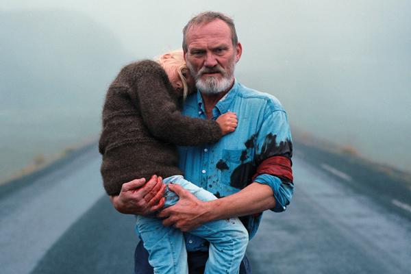 Islandský film Biely, biely deň.