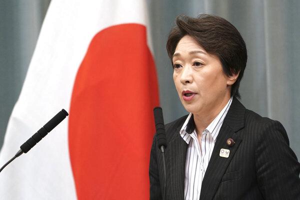 Japonská ministerka pre olympiádu Seiko Hašimotová.