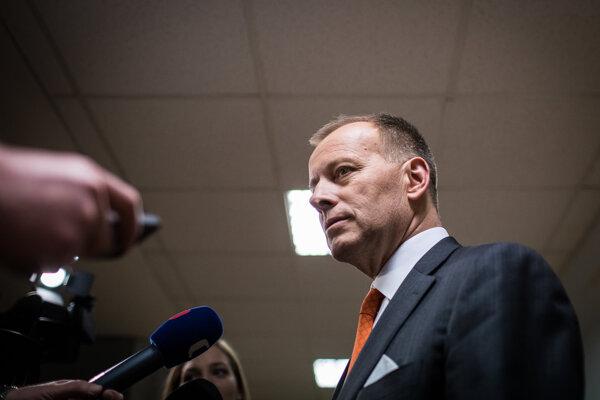 Predseda strany Sme rodina Boris Kollár.
