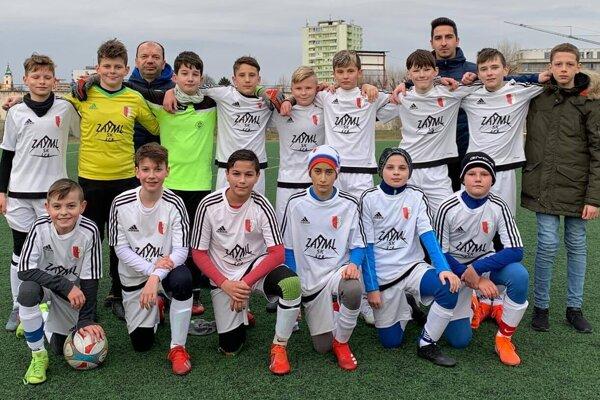 Topoľčany U13 - po jesennej časti figurujú na prvom mieste v II. lige mladších žiakov.