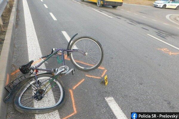Nehoda sa stala vo štvrtok.