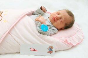 Júlia Balážová z Bojníc sa narodila 27.2. v Bojniciach