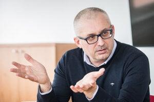 Člen predsedníctva strany Za ľudí Miroslav Kollár.