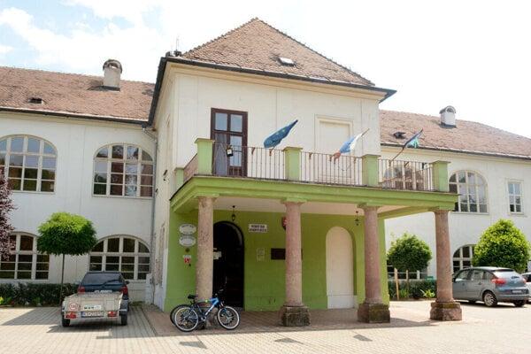 Obecný úrad Veľká Ida.