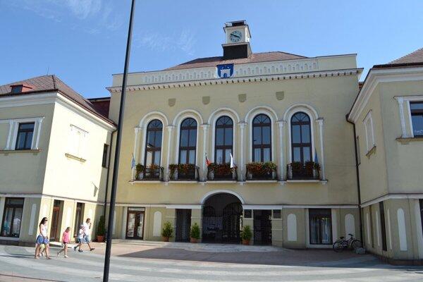 Mestský úrad Michalovce.