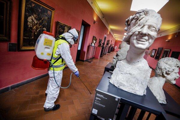 Múzeá v mnohých krajinách sú zatvorené.