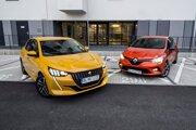 Peugeot 208 a Renault Clio