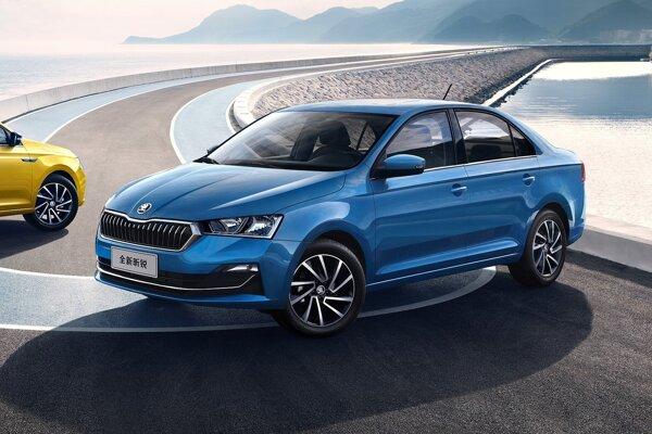 Čínska Škoda Rapid