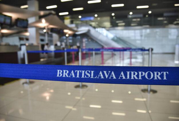 Zatvorené bratislavské letisko