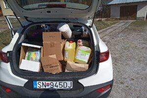 Ochranné a hygienické potreby pre Markušovčanov.