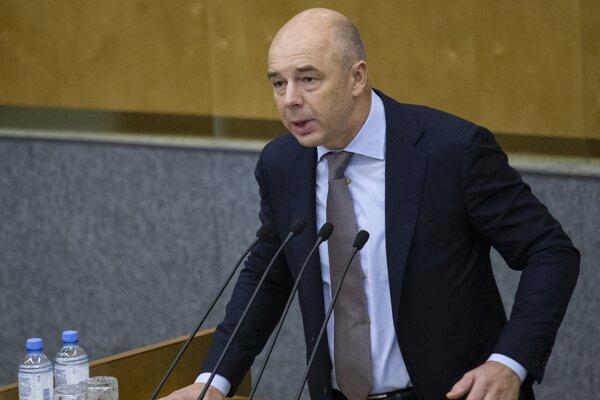 Ruský minister financií Anton Siluanov.