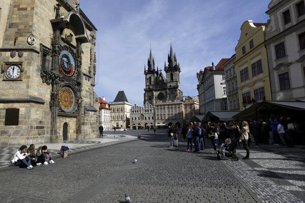 Staromestské námestie v Prahe.