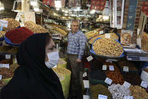 Bazár v Teheráne