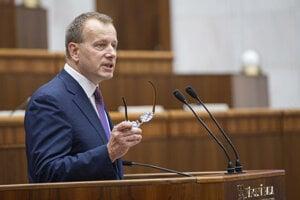 Nový predseda Národnej rady Slovenskej republiky Boris Kollár.