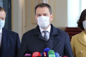 Igor Matovič po podpise koaličnej zmluvy.