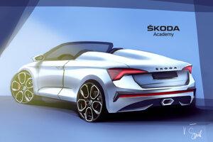 Koncept Škoda Scala Speedster 2020