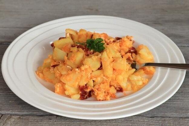 Miš-maš - rýchle francúzske zemiaky