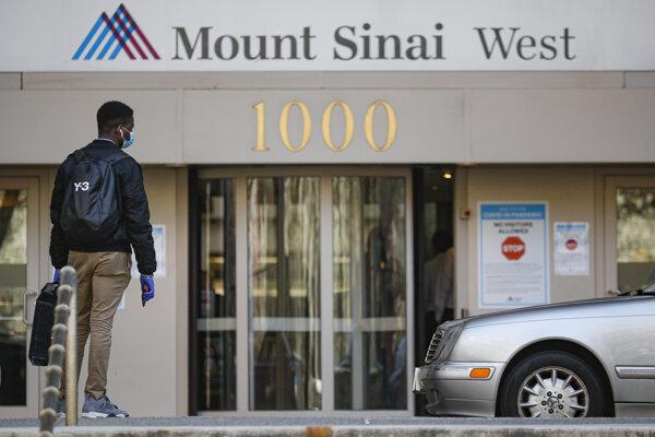 Nemocnica Mount Sinai v New Yorku.