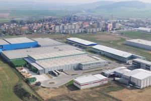 Priemyselná zóna Poprad-Matejovce.