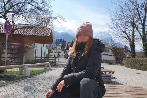 Táňa z Nitry v súčanosti žije v Bavorsku.