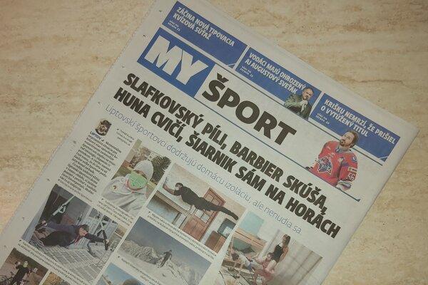V najnovšom čísle liptovských novín, okrem zaujímavého čítania, začala prvým kolom futbalová tipovacia/kvízová súťaž.