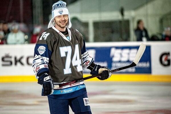Ladislav Čierny počas Winter Classic 2019.
