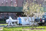 Koronavírusu SARS-CoV-2 v USA podľahlo takmer 15-tisíc ľudí.