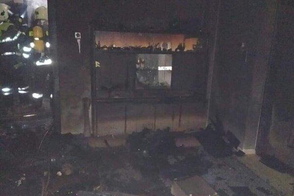 Zhorený dom v Rakovej.