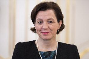 Štátna tajomníčka Ministerstva zahraničných vecí SR Ingrid Brocková.