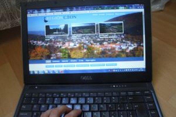 Stránka prezentuje členské obce a mestá.