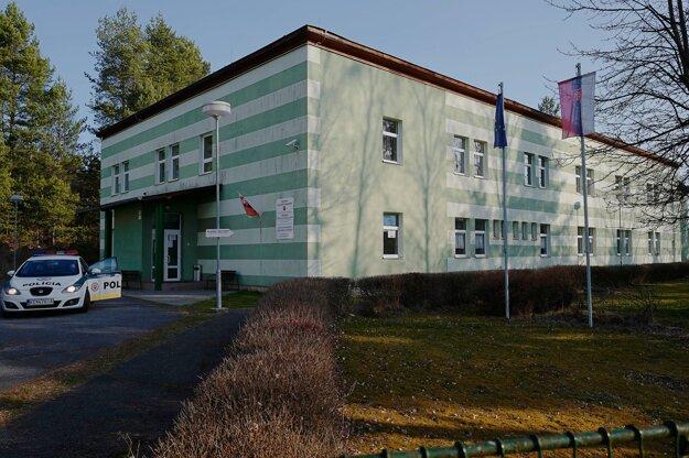 Karanténne centrum v Spišskej Novej Vsi.