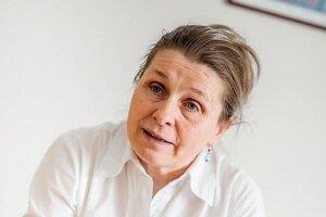 Henrieta Hudečková, hlavná odborníčka ministerstva zdravotníctva pre epidemiológiu.