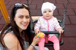 Andrea Rimová s dcérou Barborkou.
