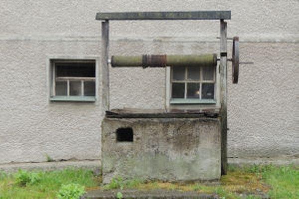 Dnes vyzerá jedna zo starých studní takto.
