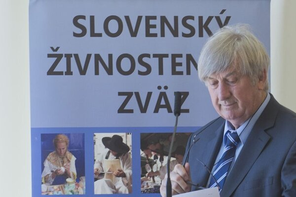 Prezident Slovenského živnostenského zväzu Stanislav Čižmárik.