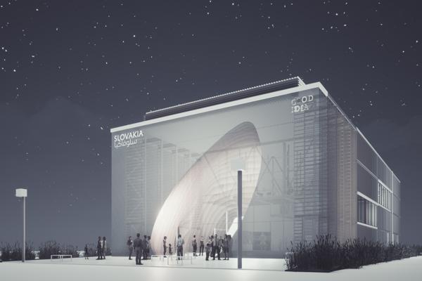 Vizuál slovenského pavilónu pre EXPO Dubaj 2020 vytvorili košickí architekti. Dali mu názov Clouds of Thoughts, teda mraky myšlienok.