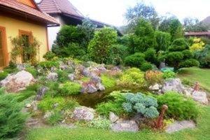 Minuloročná víťazná záhrada.