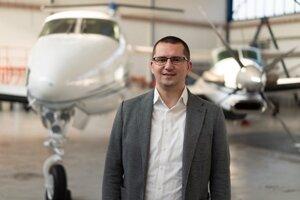 Martin Feč chce urobiť privátne lety dostupnejšie.