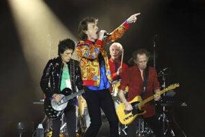 Členovia britskej rockovej skupiny The Rolling Stones.