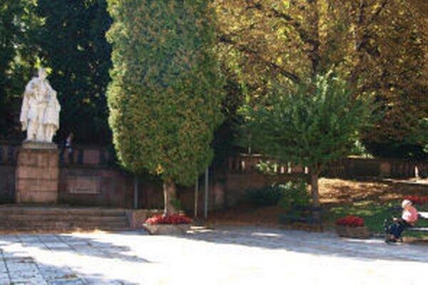 Pomník padlých v Banskej Štiavnici.