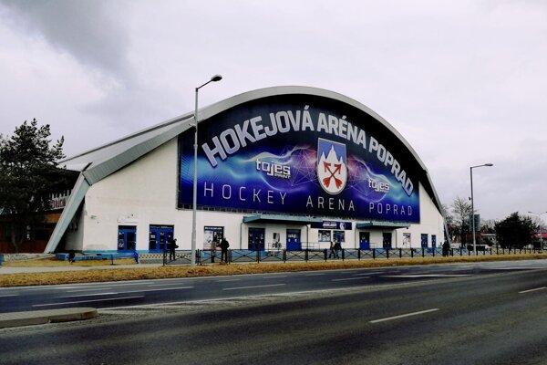 Zimný štadión Popradu.