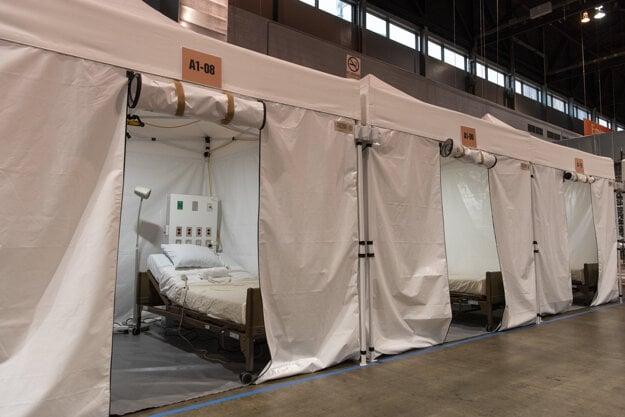 Miesta pre pacientov s ochorením Covid-19 v meste Chicago.
