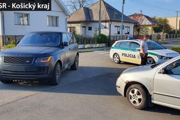 Po nehode v Sobranciach. Vodič mal 2,79 promile.